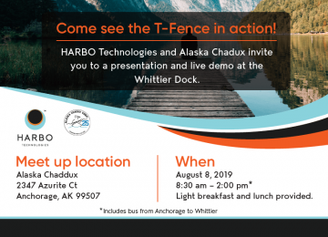 HARBO T-Fence Live Demo!
