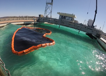 HARBO Technologies Launched a Revolutionary Oil Spill Blocking System at Interspill